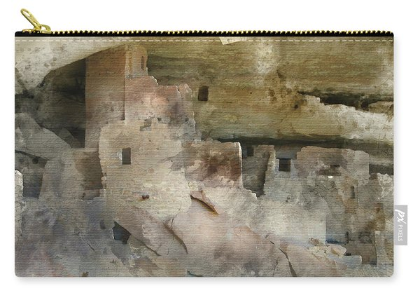 Mesa Verde Water Color Carry-all Pouch
