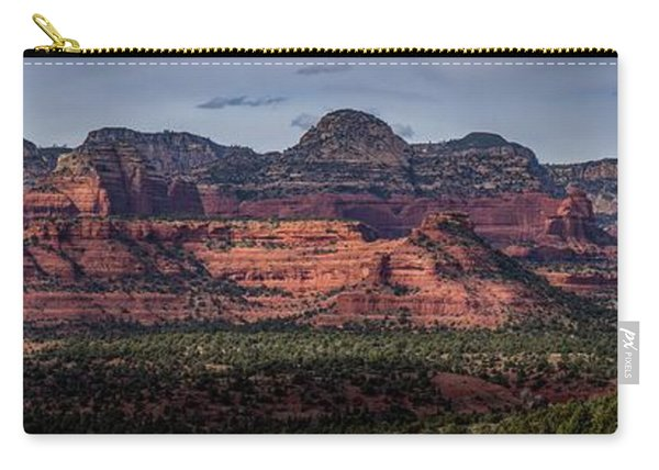 Mescal Mountain Panorama Carry-all Pouch