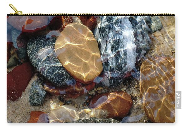 Mesmerized By The Creek Stones  Carry-all Pouch