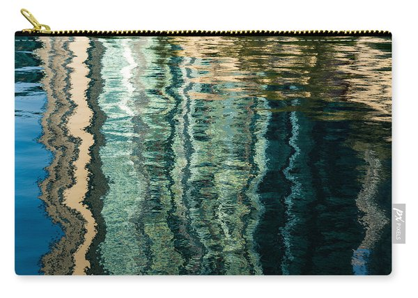 Mesmerizing Abstract Reflections Two Carry-all Pouch