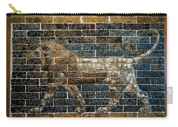 Mesopotamian Lion Carry-all Pouch