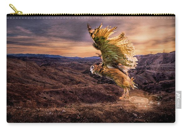 Messenger Of Hope Carry-all Pouch