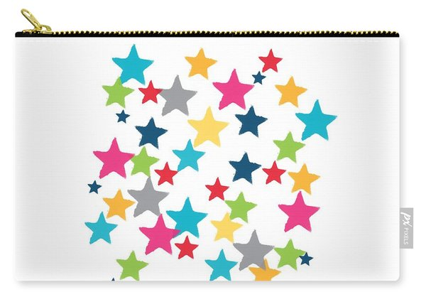 Messy Stars- Shirt Carry-all Pouch