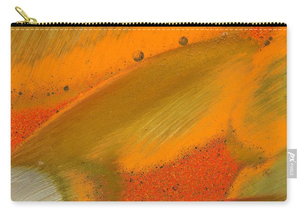 Metal Abstract Four Carry-all Pouch