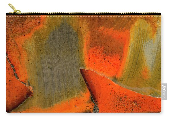 Metal Abstract Three Carry-all Pouch