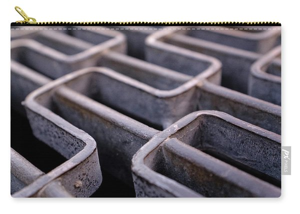 Metal Grating In Downtown Winter Park Florida Carry-all Pouch