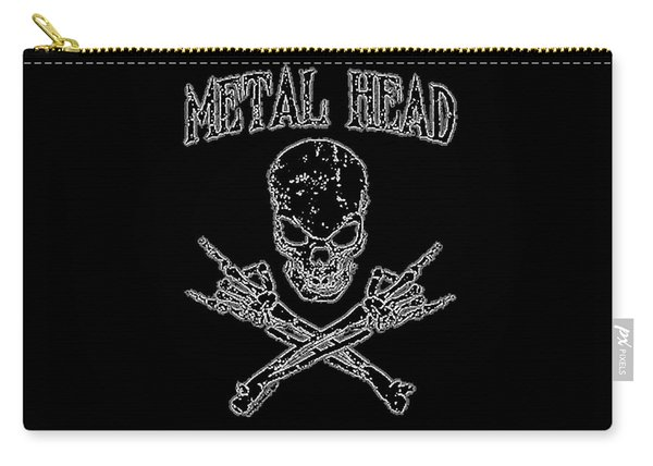 Metal Head Carry-all Pouch