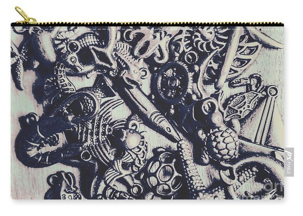Metallic Seas Carry-all Pouch