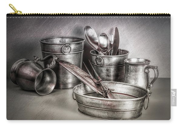 Metalware Still Life Carry-all Pouch