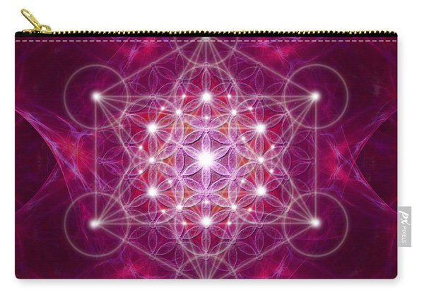 Metatron Cube Fractal Carry-all Pouch