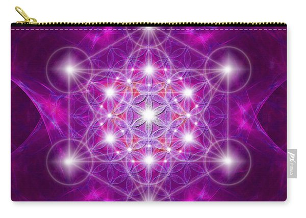 Metatron Cube Mandala Carry-all Pouch
