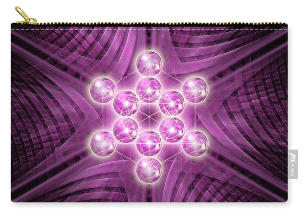 Metatron's Cube Atomic Carry-all Pouch