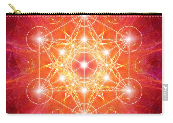 Metatron's Cube Light Carry-all Pouch