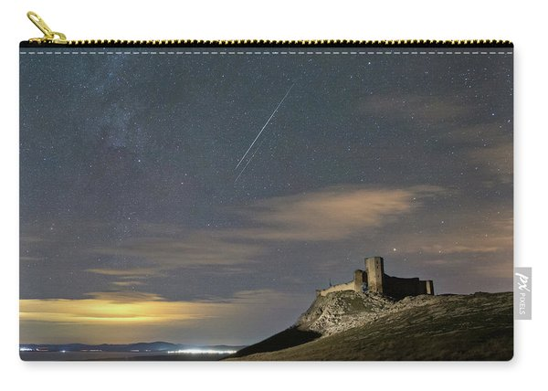 Meteors Above The Fortress Carry-all Pouch