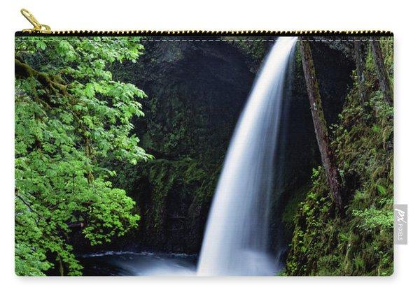 Metlako Falls Waterfall Art By Kaylyn Franks Carry-all Pouch