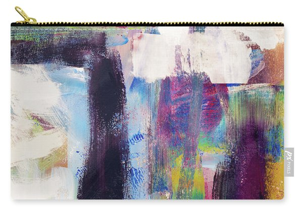 Metro 1- Abstract Art By Linda Woods Carry-all Pouch