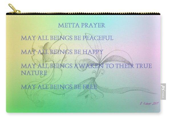 Metta Prayer Carry-all Pouch