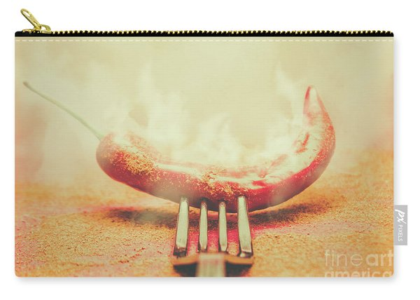 Mexican Restaurant Artwork Carry-all Pouch