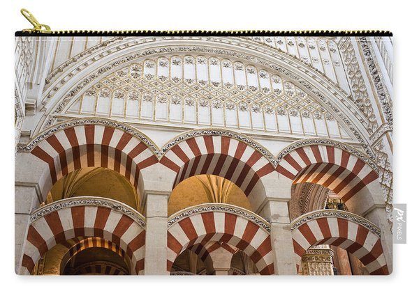 Mezquita Cathedral Architectural Details Carry-all Pouch