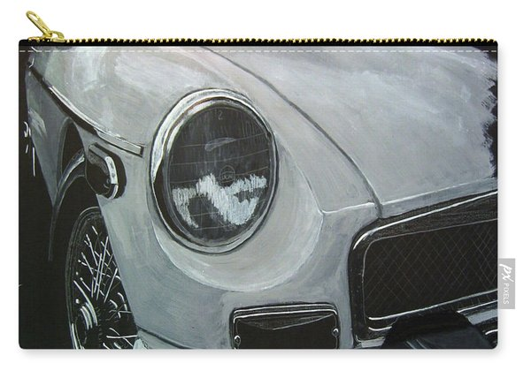 Carry-all Pouch featuring the painting MGB by Richard Le Page