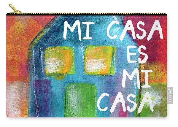 Mi Casa Es Mi Casa- Art By Linda Woods Carry-all Pouch