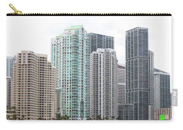 Miami Highrises Carry-all Pouch