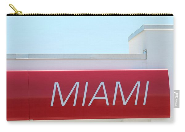 Miami Sign Carry-all Pouch