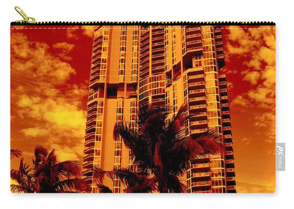 Miami South Pointe IIi Highrise Carry-all Pouch