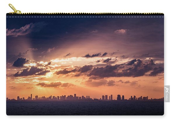 Miami Sunset Pano Carry-all Pouch