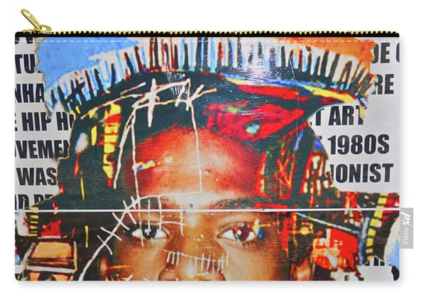 Michel Basquiat Carry-all Pouch