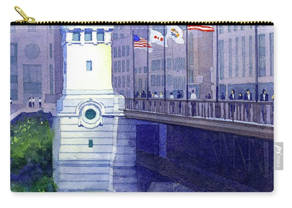 Michigan Avenue Bridge Carry-all Pouch