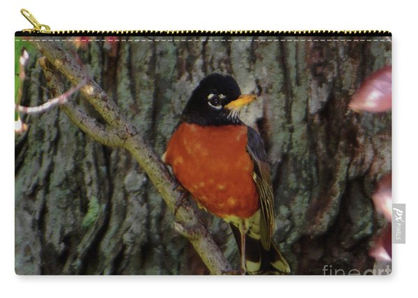 Michigan State Bird Robin Carry-all Pouch
