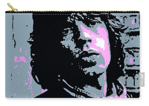 Mick Jagger In London Carry-all Pouch