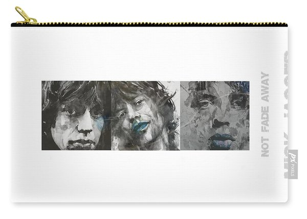 Mick Jagger Triptych Carry-all Pouch