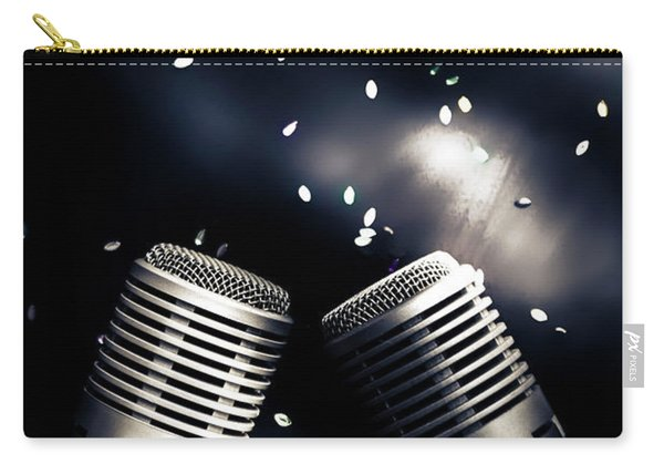 Microphone Club Carry-all Pouch