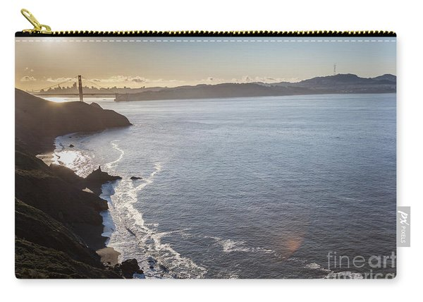 Mid Morning View Of The Downtown San Franscisco Over The Golden  Carry-all Pouch