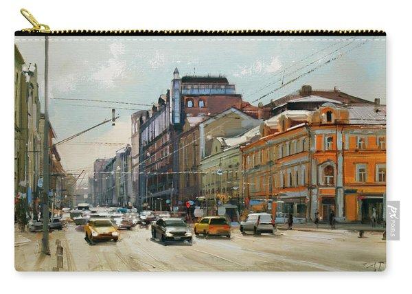 Midday. Tver Stream. Tverskaya Zastava Square. Carry-all Pouch