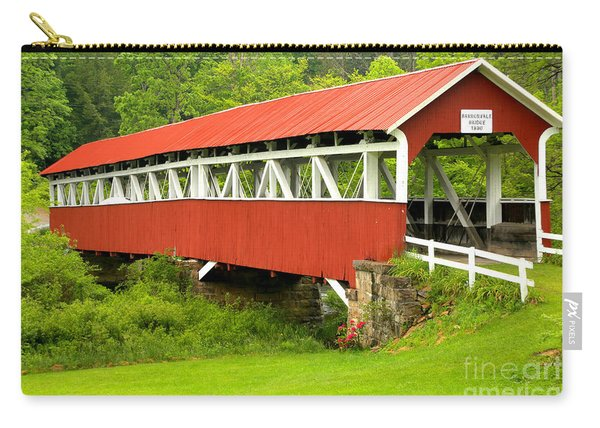 Middle Creek Township Covered Bridge Carry-all Pouch