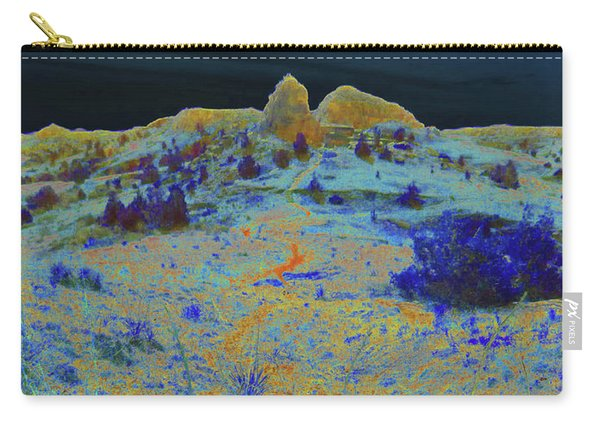 Midnight At The Burning Coal Vein Carry-all Pouch