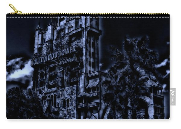 Midnight At The Tower Of Terror Mp Carry-all Pouch