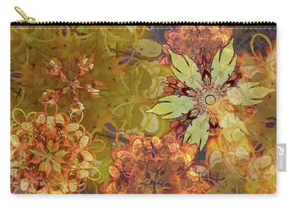 Midnight Blossom Bouquet Carry-all Pouch