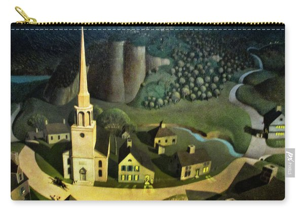 Midnight Ride Of Paul Revere Carry-all Pouch