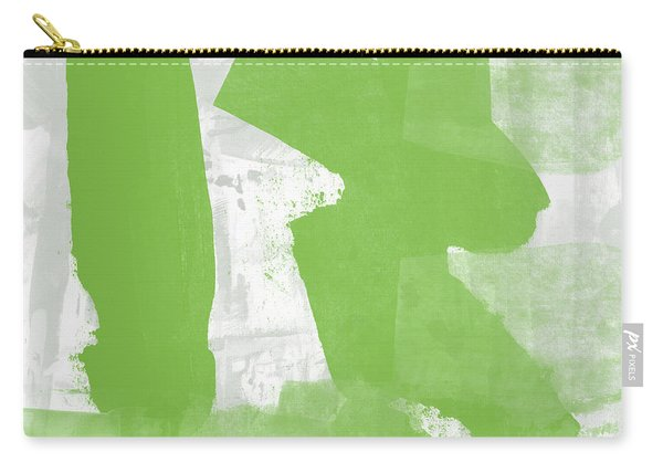 Midori- Abstract Art By Linda Woods Carry-all Pouch