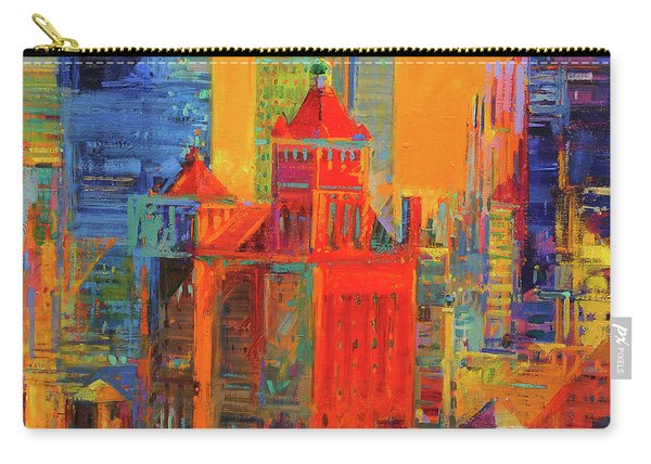 Midtown Manhattan From The Waldorf Carry-all Pouch