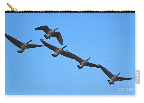 Migrating Geese Carry-all Pouch