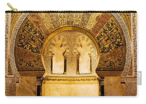 Mihrab In The Great Mosque Of Cordoba Carry-all Pouch