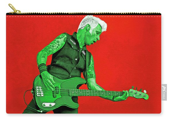 Mike Dirnt Green Day Carry-all Pouch