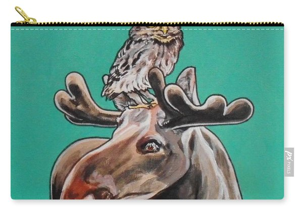 Mike The Moose Carry-all Pouch