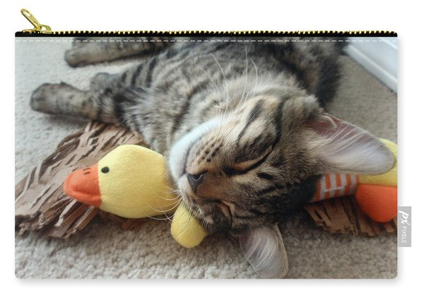 Mikino And Ducky Naptime Carry-all Pouch