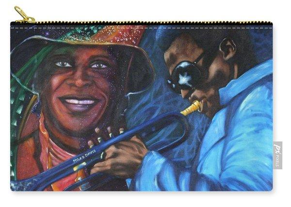 Blaa Kattproduksjoner            Miles Davis - Smiling Carry-all Pouch